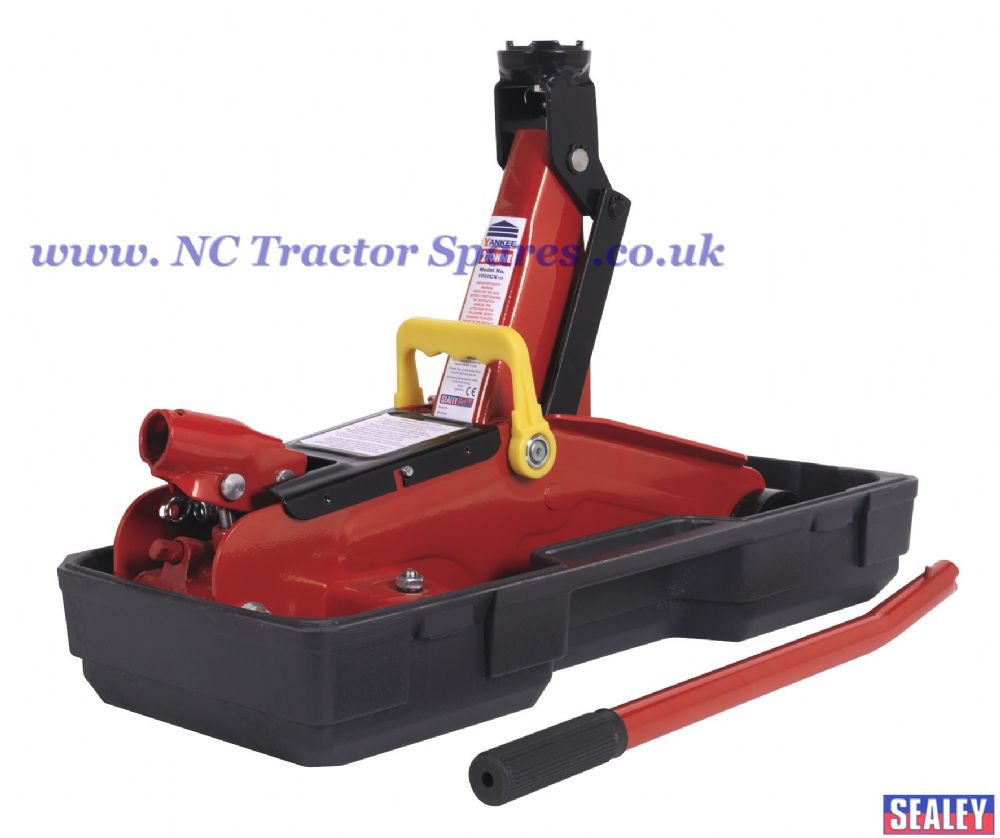 Trolley Jack 2tonne Short Chassis with Storage Case